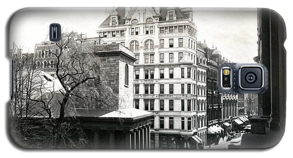 1890 Tremont Street Boston Galaxy S5 Case by Historic Image