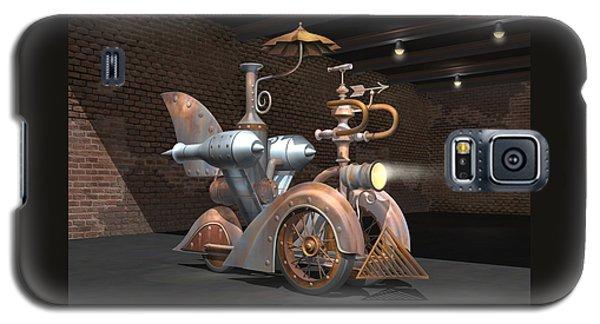 1898 Steam Scooter Galaxy S5 Case