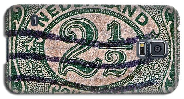 1899 Netherlands Stamp Galaxy S5 Case by Bill Owen