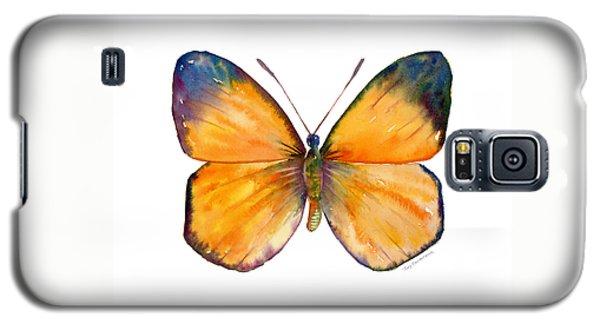 19 Delias Anuna Butterfly Galaxy S5 Case