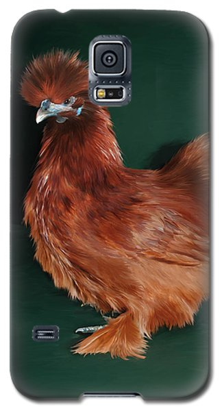 19. Red Silkie Hen Galaxy S5 Case