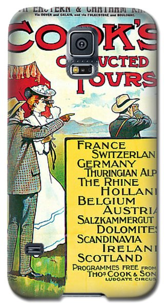 1904 Cooks Conduted Tours Vintage Travel Art Galaxy S5 Case