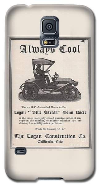1905 Logan Automobile Poster Galaxy S5 Case