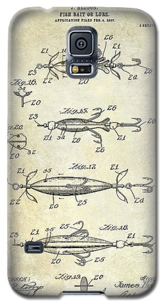 1907 Fishing Lure Patent Galaxy S5 Case