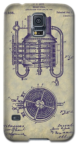 1909 Jett Whiskey Still Patent Galaxy S5 Case