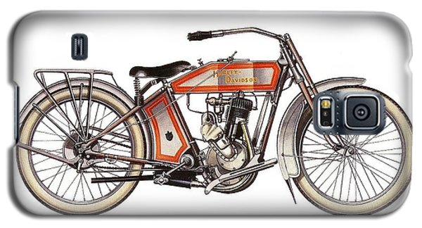 1914 Harley Davidson 35ci Model 10b Galaxy S5 Case by Maciek Froncisz