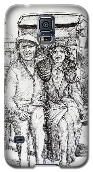 1920s Couple Galaxy S5 Case