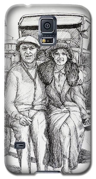 1920s Couple Galaxy S5 Case