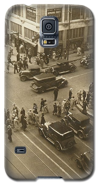 1920s Dallas Downtown Galaxy S5 Case by Paul Ashby Antique Image