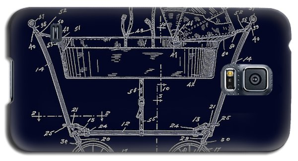 1922 Baby Carriage Patent Art Blueprint Galaxy S5 Case