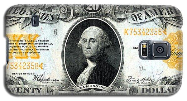 1922 Twenty Dollar Gold Certificate Galaxy S5 Case