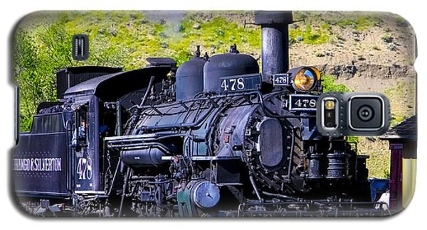 1923 Vintage  Railroad Train Locomotive  Galaxy S5 Case