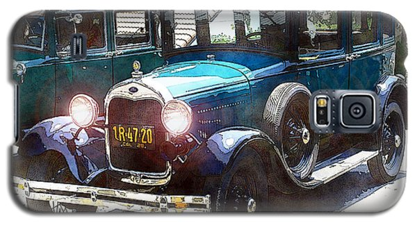 1927 Ford Lights On Galaxy S5 Case by William Havle