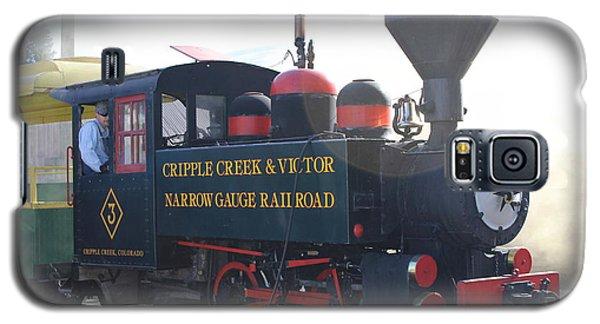 1927 Porter Train Engine Galaxy S5 Case by Steven Parker