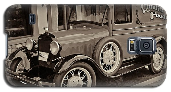 1930 Ford Panel Truck Galaxy S5 Case