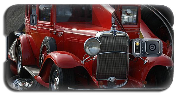 Galaxy S5 Case featuring the pyrography 1932 Chevrolet by B Wayne Mullins