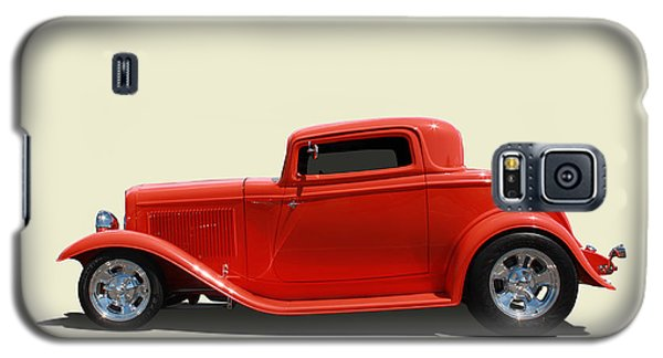 Galaxy S5 Case featuring the photograph 1932 Ford 3 Window Coupe by Keith Hawley