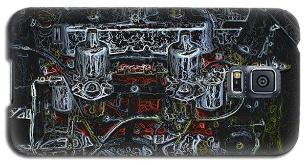 1932 Frazer Nash Tt Engine Detail Digital Art Galaxy S5 Case