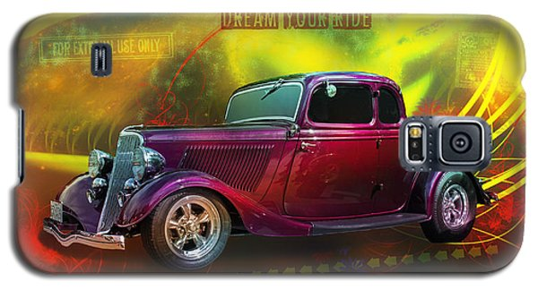 1934 Ford 5 Window Gennie Galaxy S5 Case