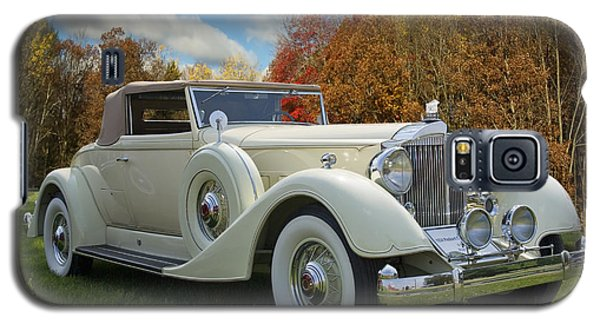 Galaxy S5 Case featuring the photograph 1934 Packard Convertible  by Judy  Johnson