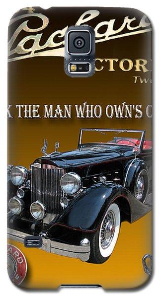1934 Packard Galaxy S5 Case by Jack Pumphrey