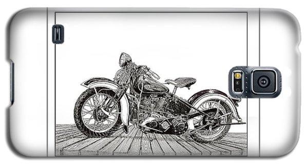 1936 Harley Knucklehead Galaxy S5 Case by Jack Pumphrey