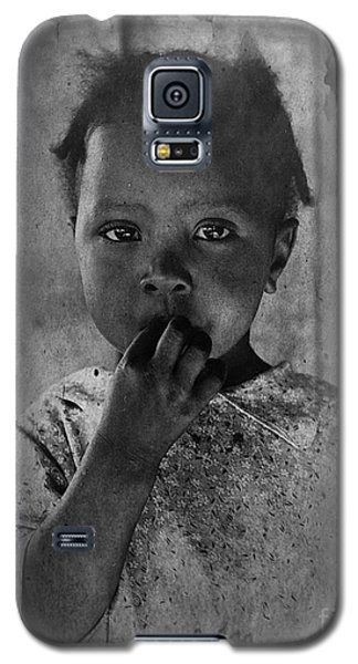 1937 Portrait Child Of Tenant Farmer Galaxy S5 Case