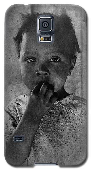 1937 Portrait Child Of Tenant Farmer Galaxy S5 Case