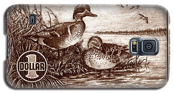 1939 American Bird Hunting Stamp Galaxy S5 Case by Historic Image