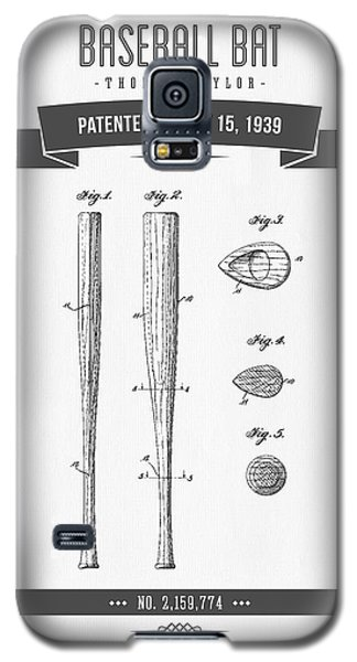 1939 Baseball Bat Patent Drawing Galaxy S5 Case