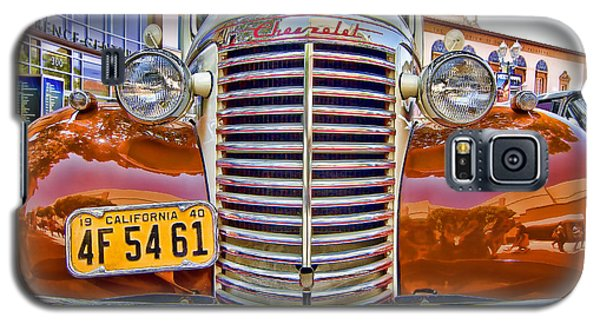 Galaxy S5 Case featuring the photograph 1940 Chevy Sedan by Jason Abando
