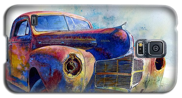 Galaxy S5 Case featuring the painting 1940 Dodge by Andrew King