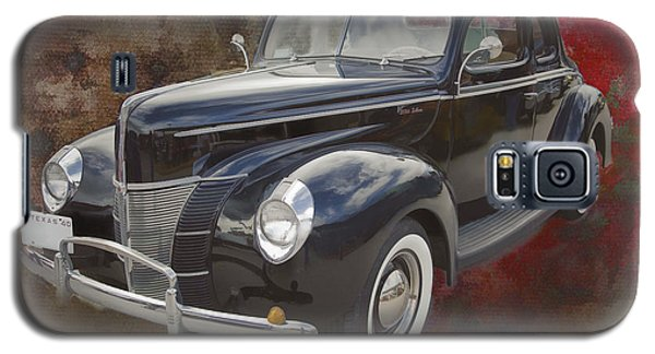 1940 Ford Deluxe Photograph Of Classic Car Painting In Color 319 Galaxy S5 Case