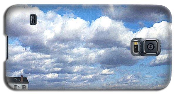 Galaxy S5 Case featuring the photograph 1940 Stonington Connecticut by Merton Allen