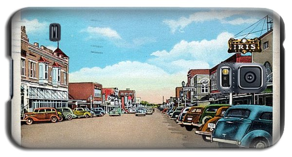 1940s Downtown Terrell Texas Galaxy S5 Case