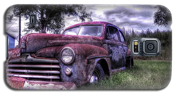 1940s Ford Super Deluxe 8 Galaxy S5 Case by Micah Goff