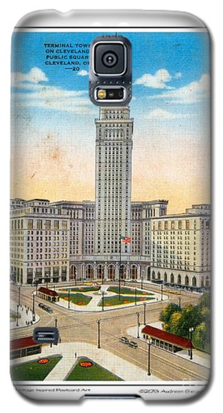 1940s Terminal Tower Cleveland Ohio Galaxy S5 Case