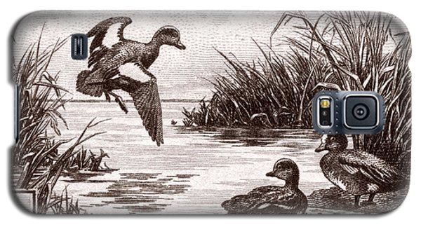 1942 American Bird Hunting Stamp Galaxy S5 Case by Historic Image