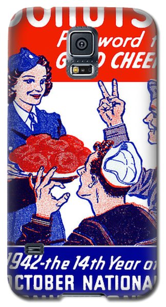 1942 Donut Month Poster Galaxy S5 Case