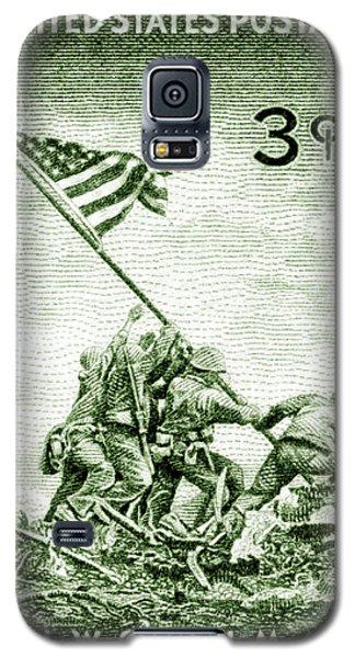 1945 Marines On Iwo Jima Stamp Galaxy S5 Case