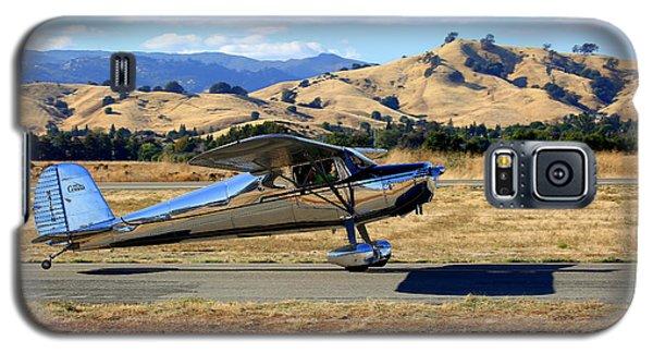 1947 Cessna 140 Taxiing N4151n Galaxy S5 Case