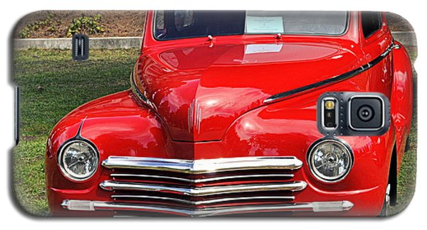1948 Plymouth Coupe Galaxy S5 Case by AJ  Schibig