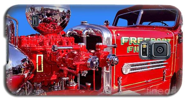 1949 Ahrens Fox Piston Pumper Fire Truck Galaxy S5 Case by Jim Carrell