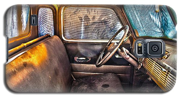 1949 Chevy Truck Cab Galaxy S5 Case by D Wallace