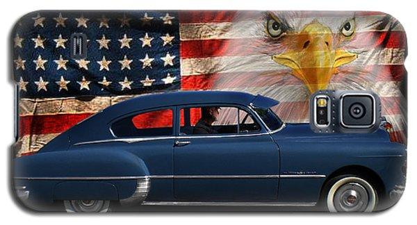 1949 Pontiac Tribute Roger Galaxy S5 Case by Peter Piatt