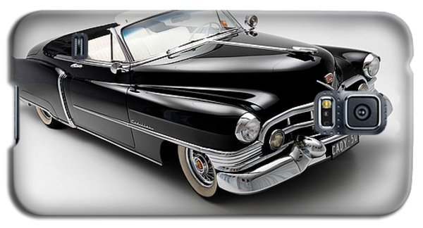 Galaxy S5 Case featuring the photograph 1950 Cadillac Convertible by Gianfranco Weiss