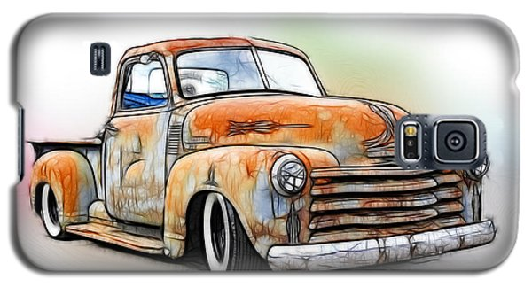 1950 Chevy Truck Galaxy S5 Case