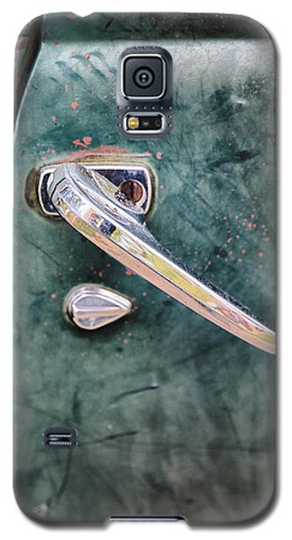 1950 Classic Chevy Pickup Door Handle Galaxy S5 Case by Adam Romanowicz