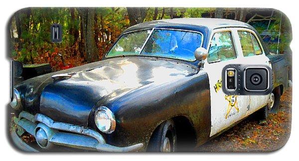 1950 Ford Cop Car Galaxy S5 Case