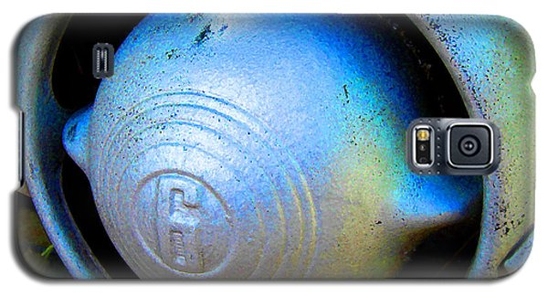 Galaxy S5 Case featuring the digital art 1950 Ford Nose Bullet by K Scott Teeters
